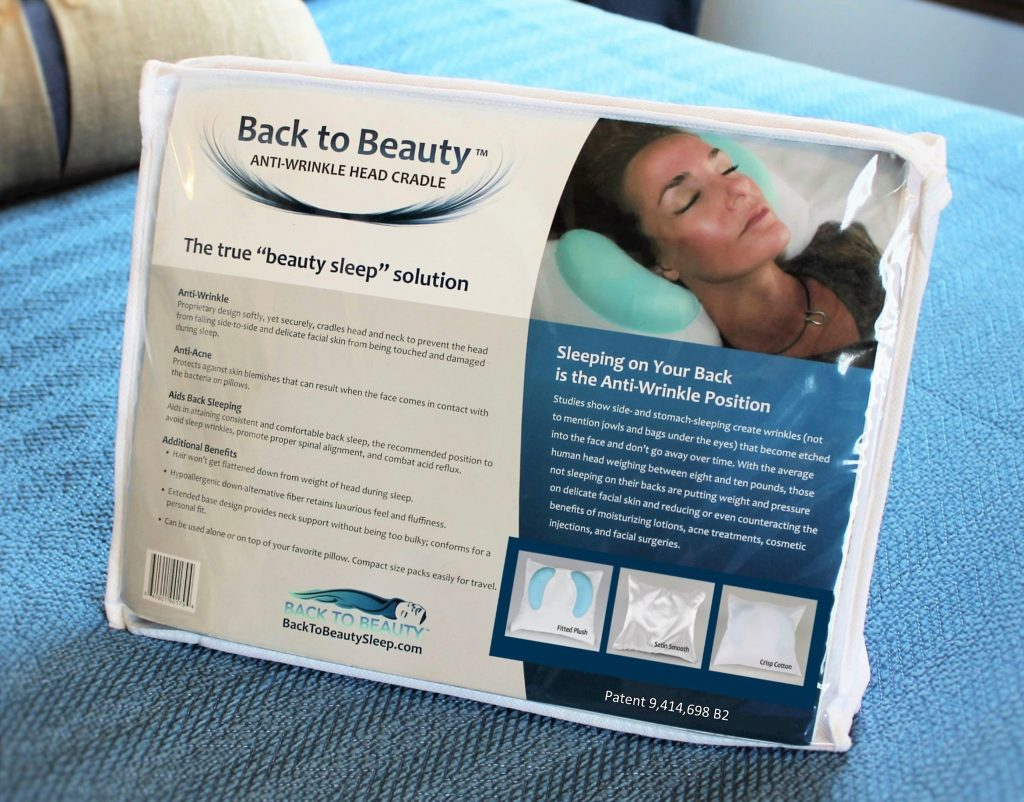 The Back to Beauty Anti Wrinkle Head Cradle Anti Aging Beauty Sleep Pillow saves your face as well as neck, chest and breast wrinkle  Anti Acne too.