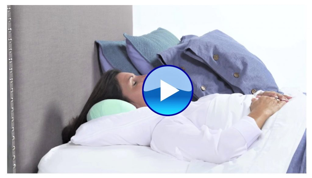 The patented Back to Beauty™ Anti-Wrinkle Head Cradle wrinkle-preventing beauty sleep pillow provides exclusive back sleeping protection against giving yourself facial acne, wrinkles, jowls, and bags under your eyes, as well as chest and breast wrinkles.