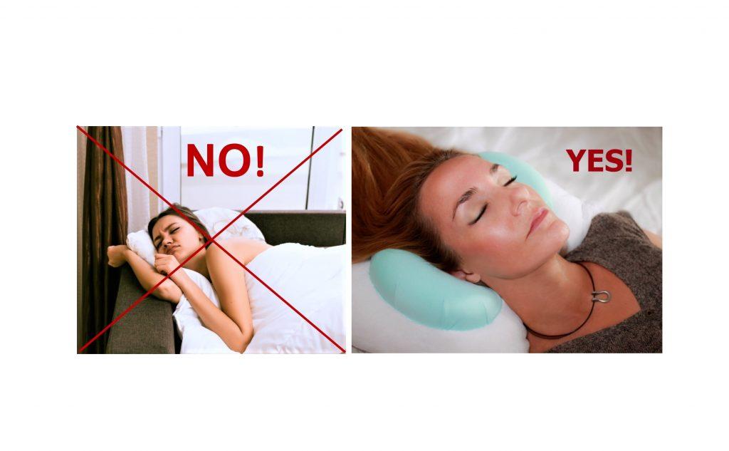 BackToBeautySleep.com Pillow to fight aging skin Back to Beauty Anti Wrinkle Head Cradle  Back Sleeping Beauty Sleep Pillow